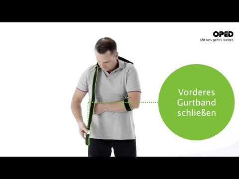 SUPROshoulder: Anlegevorgang Schulter | Schulterkonzept