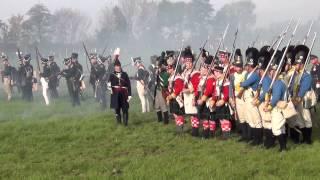 preview picture of video '1813 - 2014 ~ Historische Gefechtsdarstellung Völkerschlacht Liebertwolkwitz 1/2 18.10.2014'
