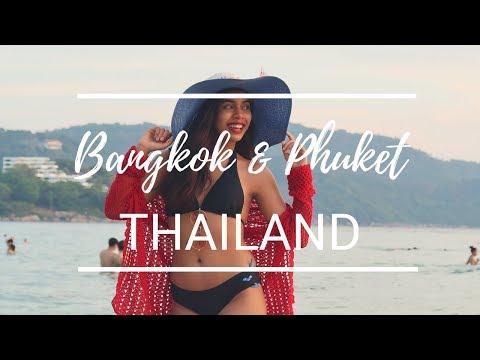 BANGKOK & PHUKET VLOG | My Travel Diary
