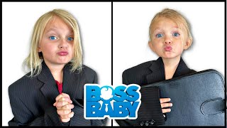 A New BOSS BABY!? Boss Baby CONTROLS our Day