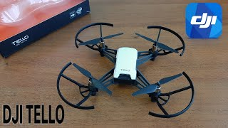 Квадрокоптер с камерой DJI Ryze Tello Обзор Достоинства и недостатки Видео с квадрокоптера