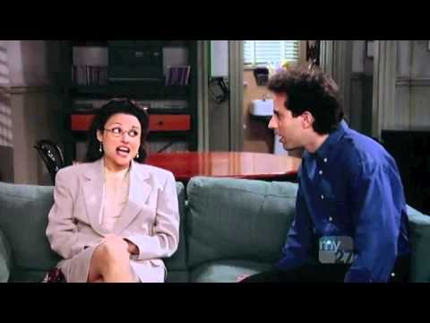 The genius of the sitcom Seinfeld - an entire storyline revolving around dick that could be aired on broadcast tv