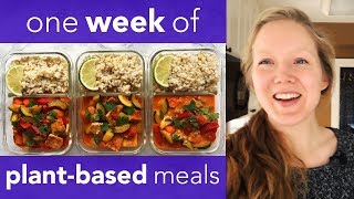 MEAL PREP WITH ME 1 - PLANT BASED MEAL PREP