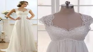 Wedding Dress Designs Collections For Bride In Empire Waist Part1