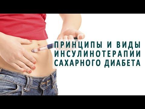 Принципы и виды инсулинотерапии сахарного диабета