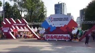 Mengenal Tiga Zona Festival Asian Para Games 2018 di GBK