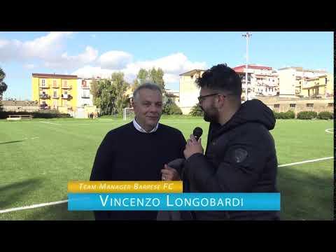 immagine di anteprima del video: BARRESE F.C. Vs Stabia Friends: 3-1 - Intervista D.G. Longobardi