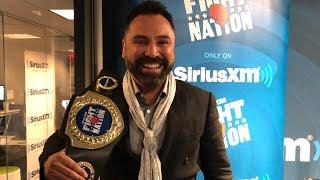 Oscar De La Hoya Challenges Dana White to a Fight  | SiriusXM | Luke Thomas