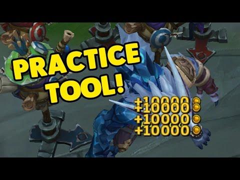LoL Practice Tool Sandbox Mode (League of Legends) - YouTube