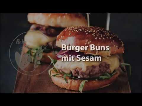 Burger Buns: video tutorial