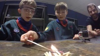 Scouts Fire Safety Activity Badge