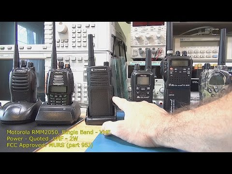 Two Way Radio Review / Range Tests – Part 1