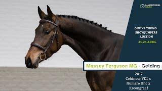 Massey Ferguson MG - onder het zadel