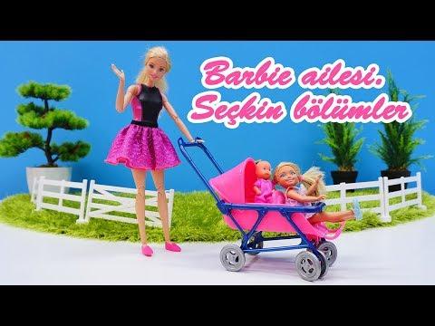 Barbie ailesi ile eğlenceli oyunlar.  Seçkin bölümler