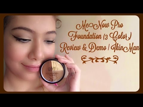 MeNow Pro (3 Color) Review & Demo + How to Contour Tutorial