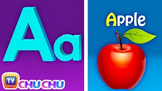 "ABC ""Phonics"" song.   This animated phonics song will help children learn the sounds of the letters in the English alphabets. This colorful phonics song also teaches two words per alphabet letter.  Facebook - https://www.facebook.com/chuchutv Twitter - https://twitter.com/TheChuChuTV Google+ - https://plus.google.com/u/0/112211188590597855240/posts  =============================================== Video: Copyright 2017 ChuChu TV® Studios Music and Lyrics: Copyright 2017 ChuChu TV® Studios ChuChu TV ®, Cutians ®, all the characters and logos  used are the registered trademarks of ChuChu TV Studios ==============================================="