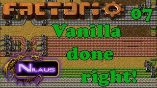 Factorio   Vanilla Done Right   E07   Array For Belts And Inserters
