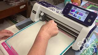 Cutting Felt Applique Pieces Using A Pattern Printed By A Cutting Machine