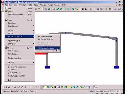 Steelwork Member Designer