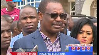 NASA leaders send a stern warning  to Jubilee leaders as they prepare for the General elections