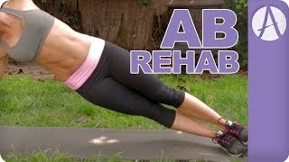 AB REHAB for new moms to LOSE THE BELLY FAT | Autumn Fitness