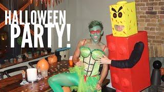 Tom Daley és barátja Lance Halloween partira készen!