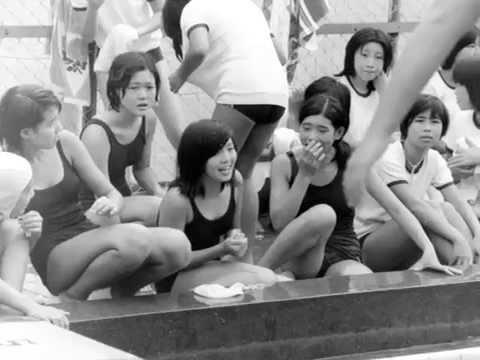 水泳大会,戸塚一中,2年生,1975年9月,昭50年