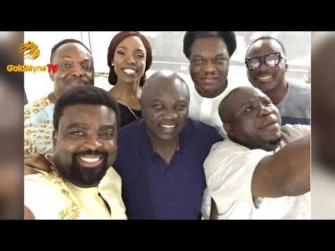 KUNLE AFOLAYAN, PRIVATELY SCREENED THE CEO MOVIE WITH LAGOS STATE GOVERNOR AND STATE EXECUTIVES
