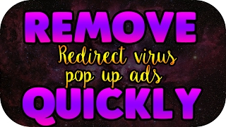how to remove pop up ads redirect virus in google chrome