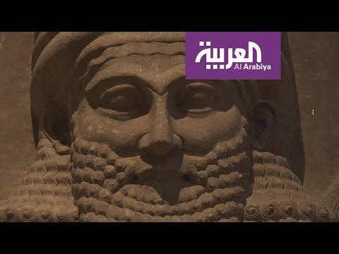 العرب اليوم - شاهد:جدارية نمرود تعرض في مزاد علني
