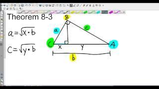 Geometry 8 1 Geometric Mean