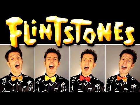 Meet the Flintstones (TV theme song) - Barbershop Quartet