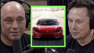 Joe Tries to Get Elon Musk to Reveal Details About the Tesla Roadster