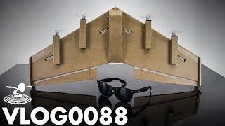 DIY 4 MOTOR RC WING | VLOG0088
