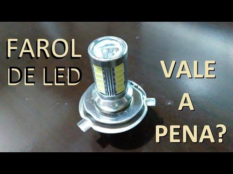 Faróis de LED no carro. Vale a pena?
