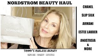 Nordstrom Beauty Haul | Chanel~Estee Lauder~Armani~SLIP Silk | #luxury
