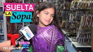 Aylín Mujica ayudó a su hija Violeta a elegir su disfraz | Suelta La Sopa | Entretenimiento