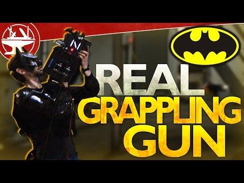 Make it Real: Batman Grappling Hook Gun (FINAL TEST)