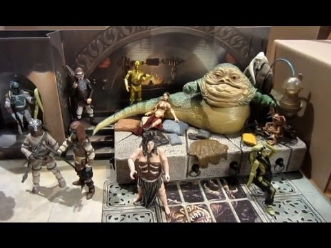 STAR WARS DISPLAY JABBA PALACE SOLO IN CARBONITE - POWER FORCE - 1998 - R 3672