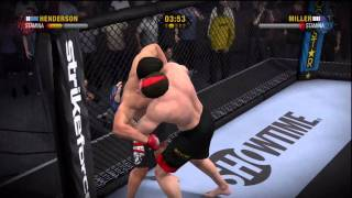 Exciting EA MMA Online Championship Fight Part 1 of 2