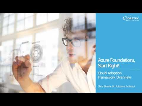 Azure Foundations, Start Right!
