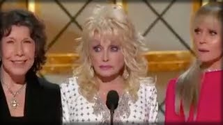 DOLLY PARTON JUST MARCHED ONTO STAGE AT EMMY'S AND DID SOMETHING UNFORGIVABLE TO TRUMP