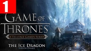 Game of Thrones Episode 6 Walkthrough Part 1 The Ice Dragon PC Gameplay 1080p No Commentary