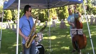 Jazz performers during the Brad Schoener Music Marathon