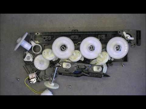 HP laserjet pro 400 color printer teardown part 5 (last, yay) Close look at the parts