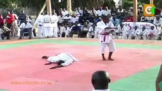 Burundi & kenya karate teams