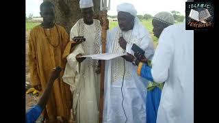 Sheikh IMAM BAKAWSU FOFANA; Subject, Al Dhurr Al Mansurr Part 2