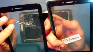CY70S309-01 серый емкостной сенсор (тачскрин) от компании Parts4Tablet - видео