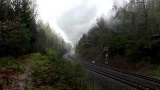 preview picture of video '52 8079 mit Leerreisezug auf der Tharandter Rampe'