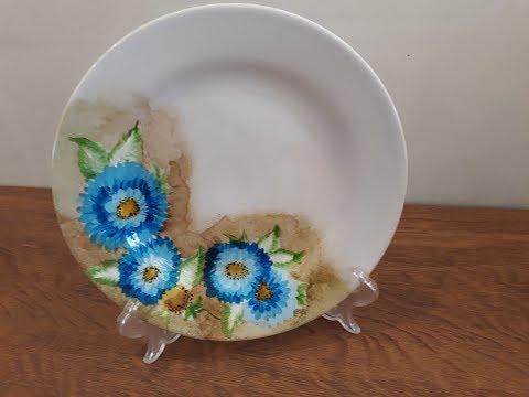 Prato com Flores